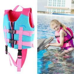 Kids Outdoor Neoprene Life Saving Vest Drifting Jacket Water