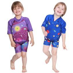 Kids Swim Suit Life Jacket Boys Floating Swim Trainer Girls