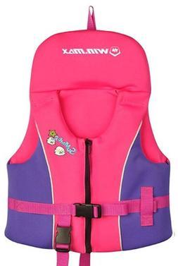 Kids Swim Vest Folat <font><b>Jacket</b></font> - Boys Girls