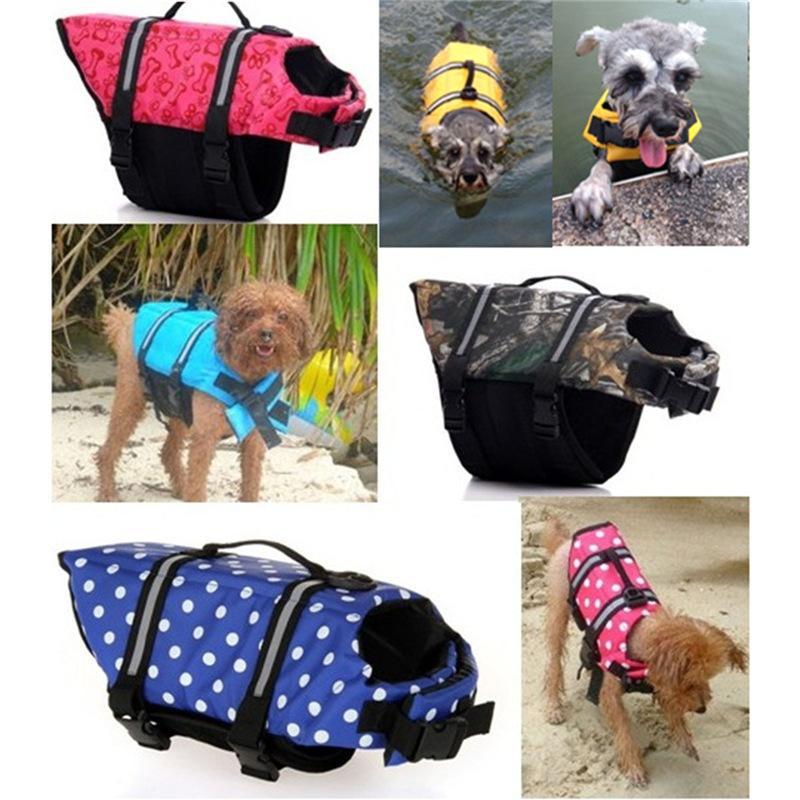 2017 quality <font><b>XS</b></font>/S/M/L/XL <font><b>Jacket</b></font> Surfing Swimming dog clothes Summer