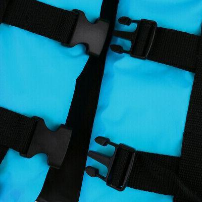 2pcs/Set Adult Life Jacket Canoe Jet Blue