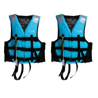 2pcs/Set Life Vest Canoe Jet Ski XL