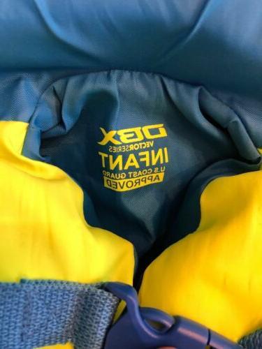 DBX 30-50lb Life Jacket Vest Safety Flotation III