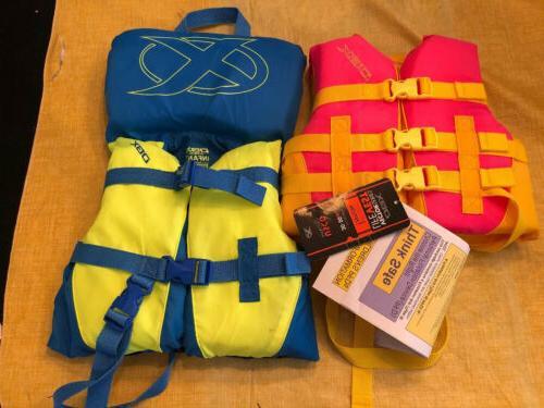 30 50lb child life jacket vest safety
