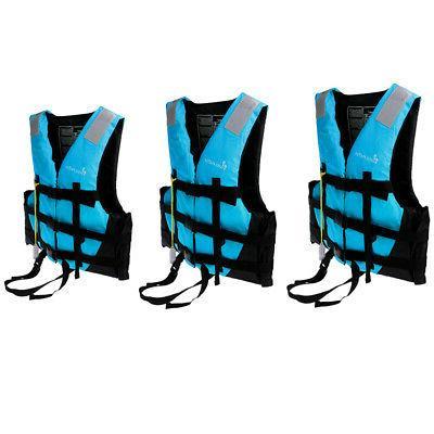 3pcs/Set Adult Jacket Vest Canoe Jet Ski Surfing