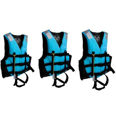 3pcs set adult life jacket vest swimming