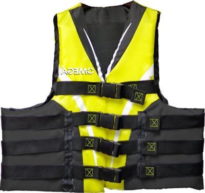 Flowt 40403-S/M Type III Extreme Sport Life Vest Yellow, Sma