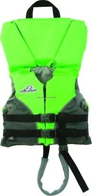 STEARNS 5976 TYPE II PFD HEAD's UP INFANT GREEN C004