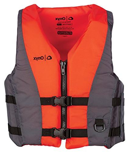 Onyx 120000-200-050-15 Pepin All Adventure Life Vest, Orange