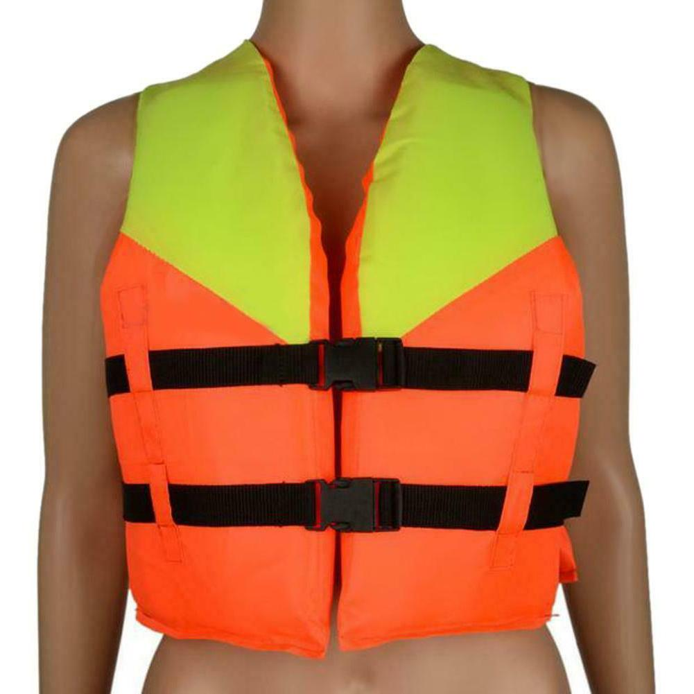 youth kids polyester life jacket boating swimming