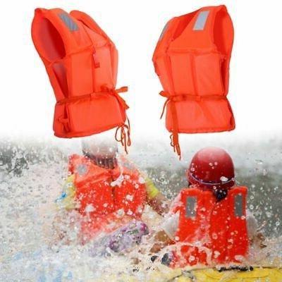 Adjustable Adult Safety Life Jacket Swimming Vest Boating Fishing