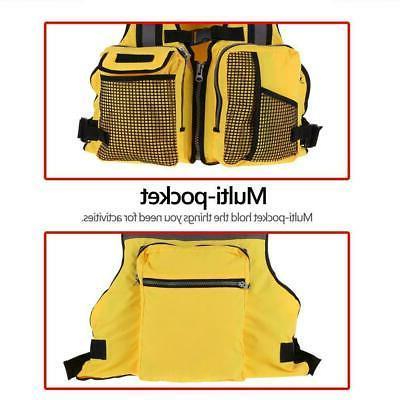 Adjustable Kayak Fishing Life Jacket Vest