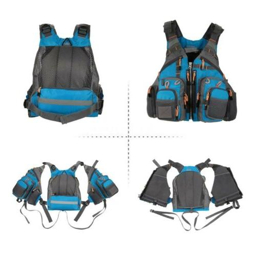 Adjustable Adults Buoyancy Life Kayak Vest New!