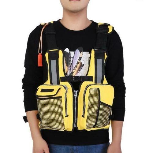 Adjustable Fishing Life Boating Vest