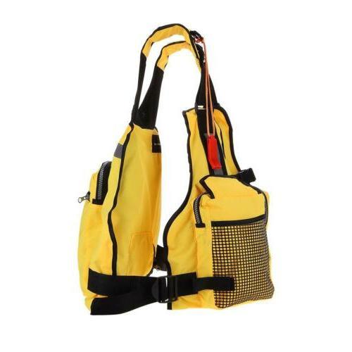 Adjustable kayak Fishing Life Boating Vest