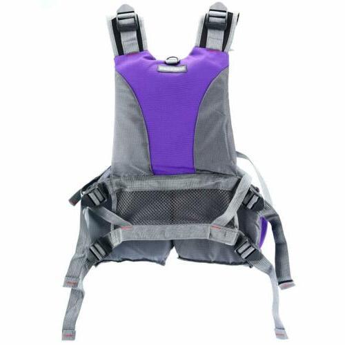 Adjustable Vest for Buoyancy Aid Sailing Kayak