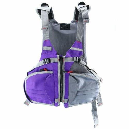 adjustable size life jacket vest for boat