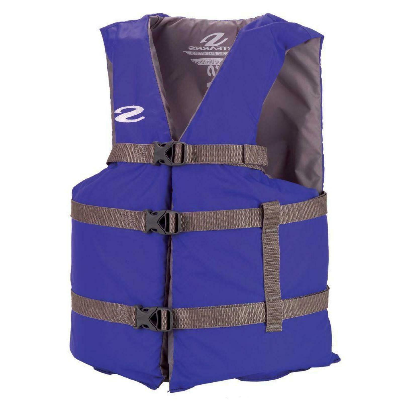 Stearns Adult 4XL Life Vest Extra Large Life Jacket Blue Uni