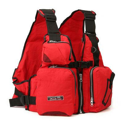 Adult Buoyancy Sail Canoeing PFD Life Jacket