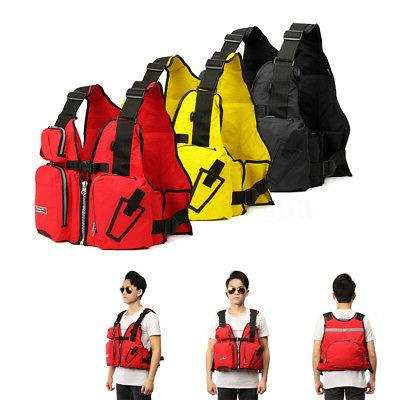 Sail Kayak Canoeing Fishing PFD Life Jacket Vest