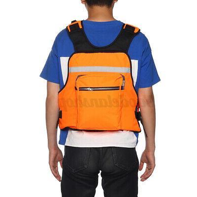 Adult Adjustable Vest Fishing Vest Kayak