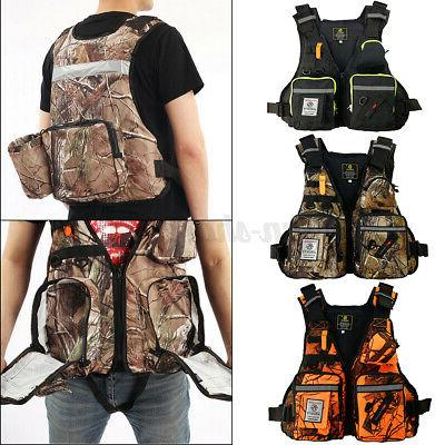 adult adjustable life jacket vest reflective aid