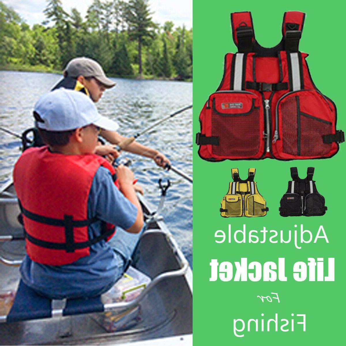 Adjustable Adult/Kid Vest Kayak