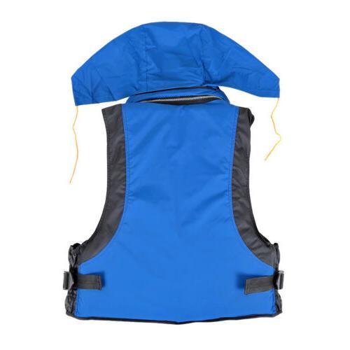 Adult Adjustable Jacket Swimming Boating Fishing Drift