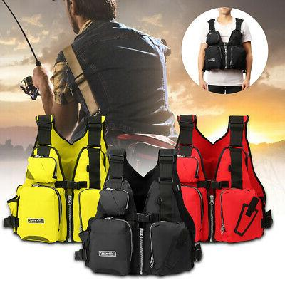 adult aid life jacket fishing surfing boating
