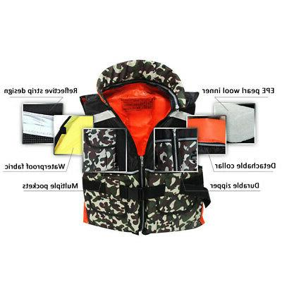 Adult Jacket Kayak Water Fishing Surfing Boating u