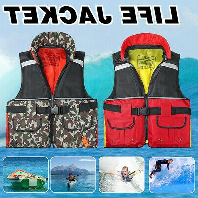 adult aid life jacket kayak water safety