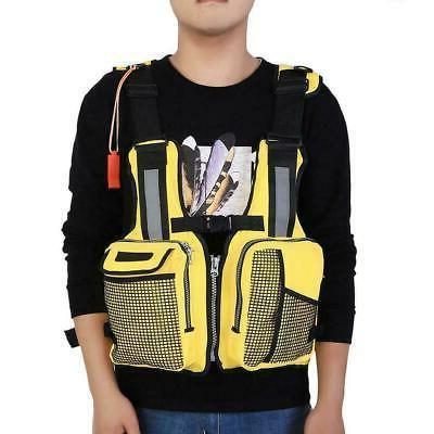 Adjustable Sailing Boating Kayak Canoeing Fly Life Jacket Vest USA