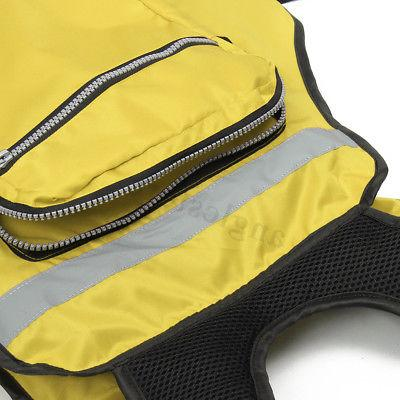 Adult Inflatable Aid Sailing Boating Swimming Kayak Fishing Vest