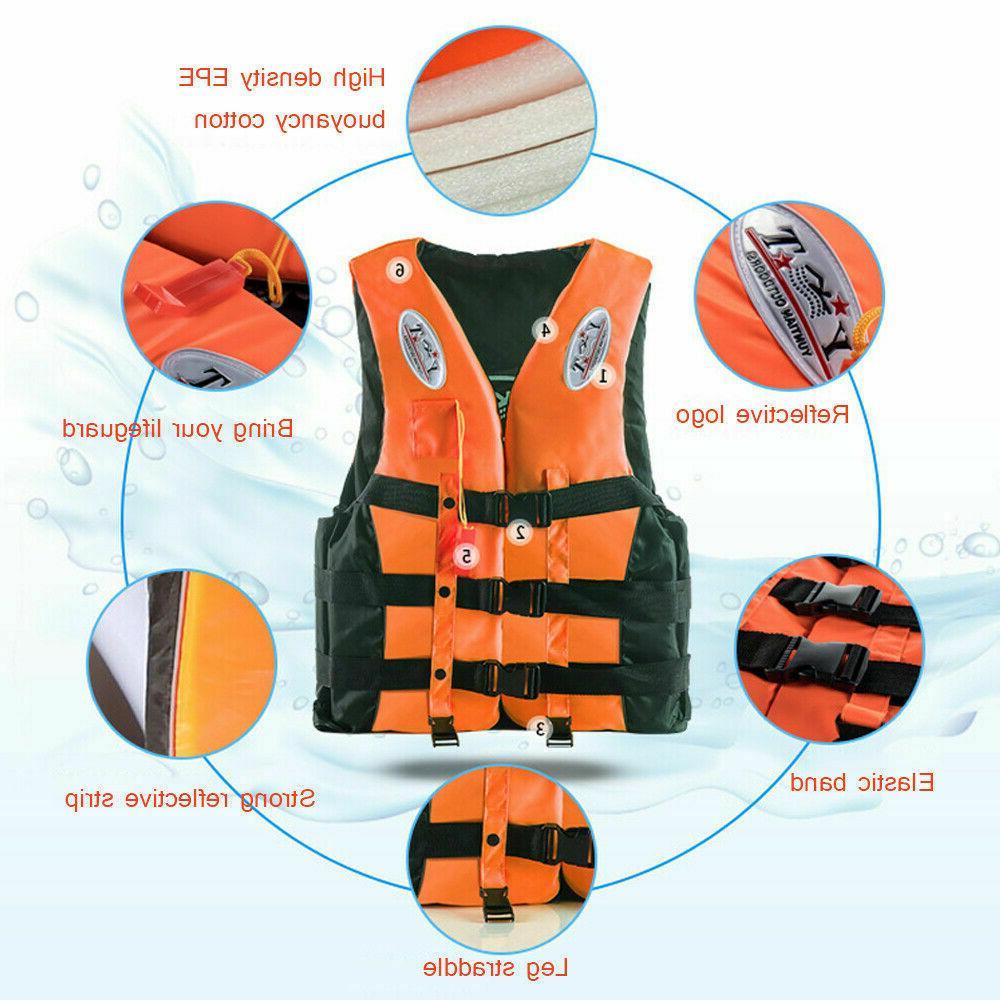 Adult Youth Life Jacket Fishing Jetski Surf Vest