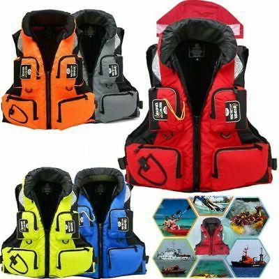 Adult Life Jacket Adjustable Fishing Buoyancy Swimming