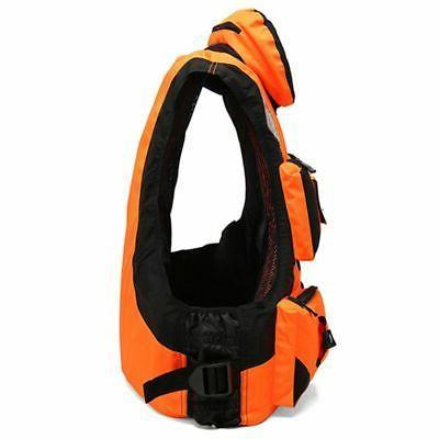 Adult Fishing Vest Swimming Kayak Canoeing