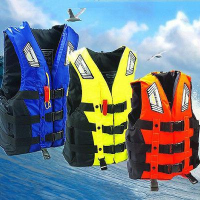 Life Jacket Vest Adult PFD Type III Fully Enclosed Coast Gua