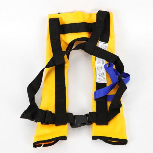 Premium  Life Jacket Swiming Life Vest Automatic Inflatable