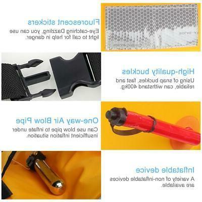 Adult Manual Inflatable Jacket Vest Automatic
