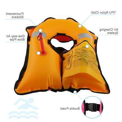 Adult Manual Jacket 150N Vest Automatic