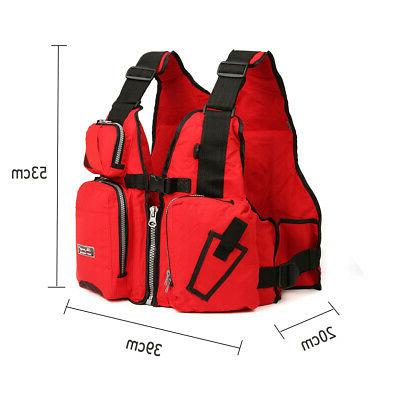 Adult Safety Life Aid Kayak Fishing Vest