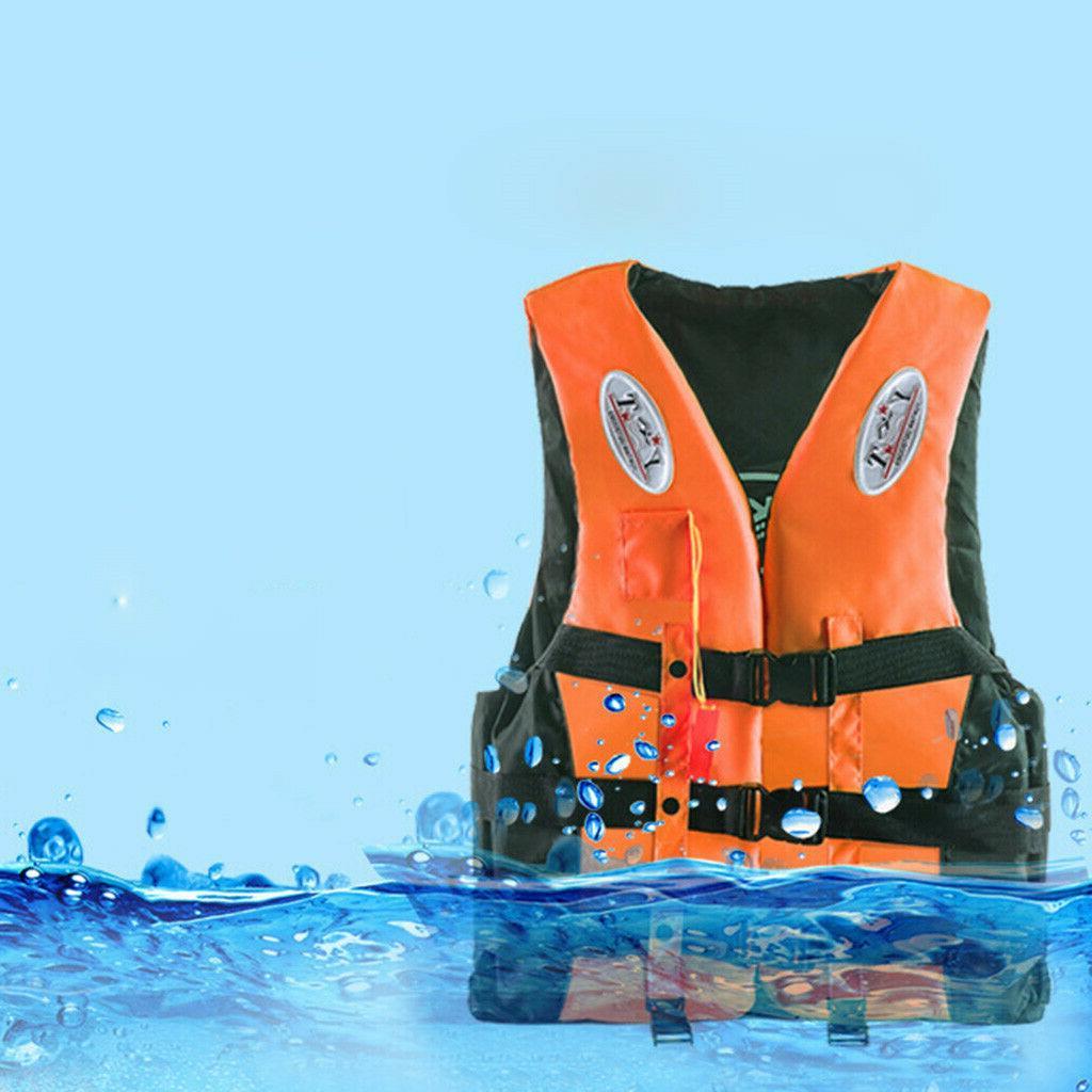Adults Jacket Aid Water Vest Kayak Buoyancy Fishing Boat Set