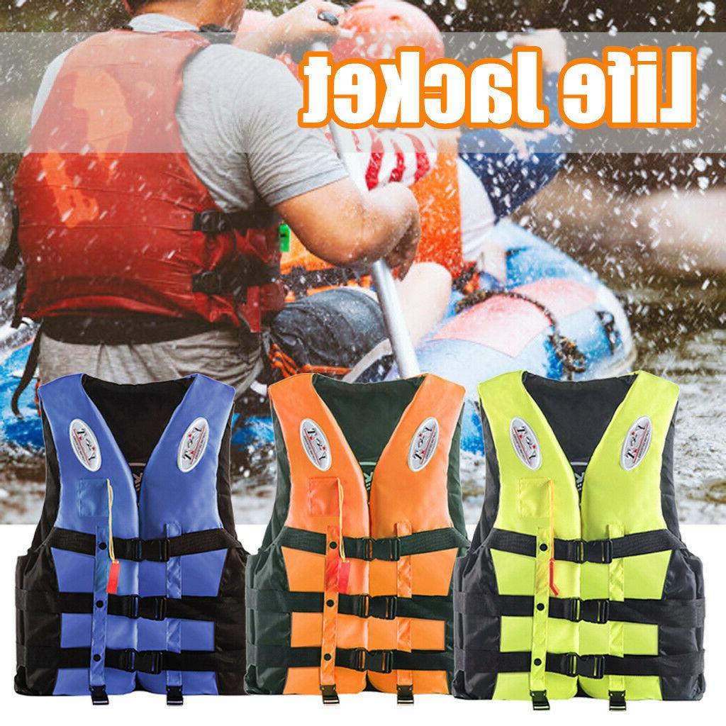adults life jacket aid water vest kayak