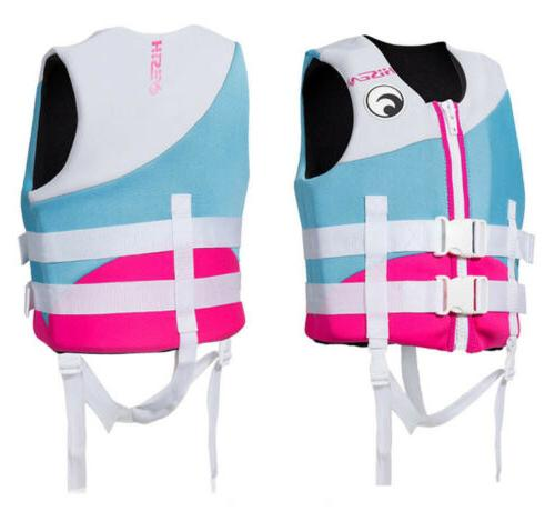 Adults Life Premium Neoprene Vest Wakeboard PFD Grey XS to XXXL