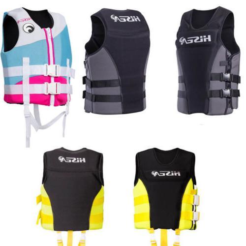adults life jacket premium neoprene vest water