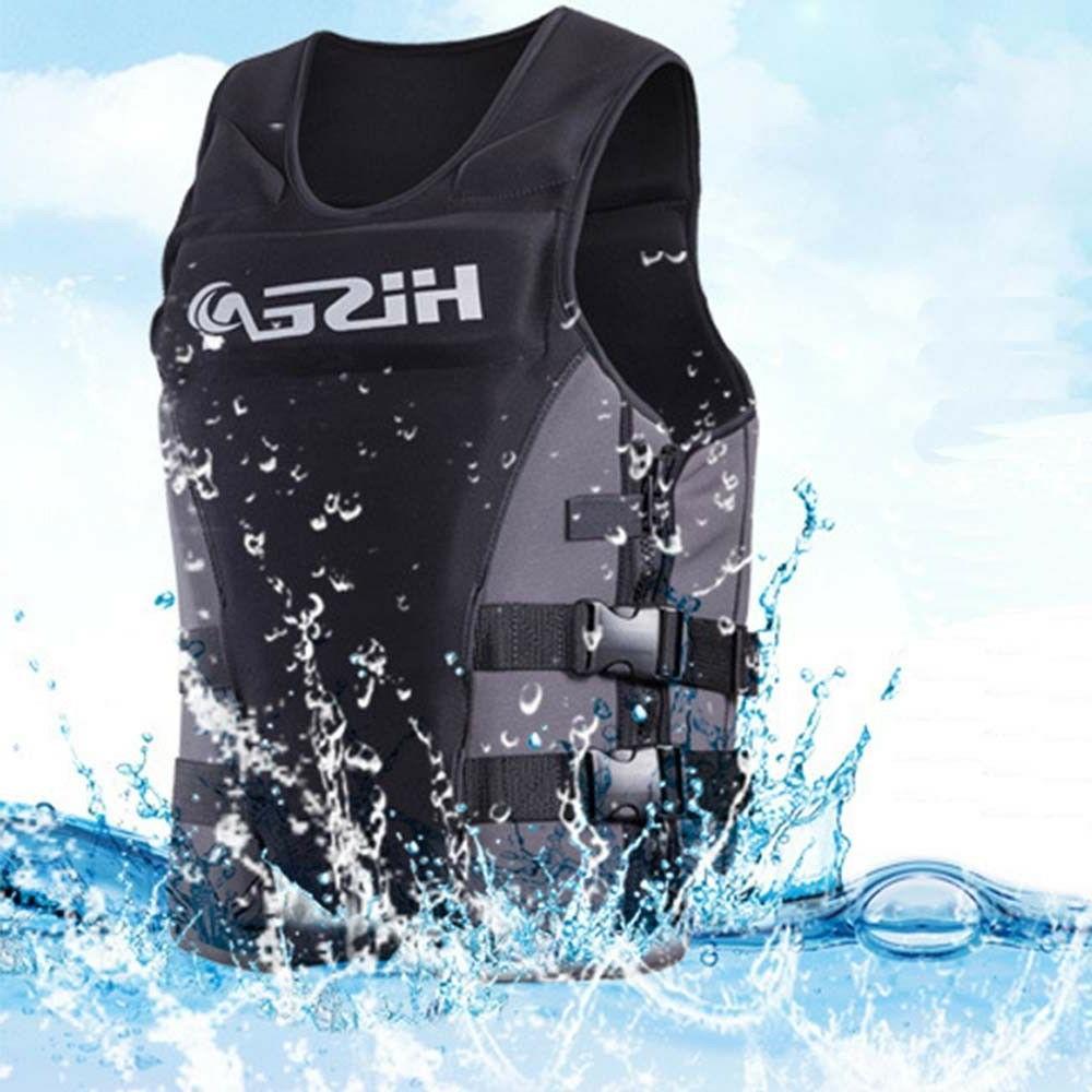 HISEA Neoprene Life Jacket Vest for Adult Boat Fishing Swimm