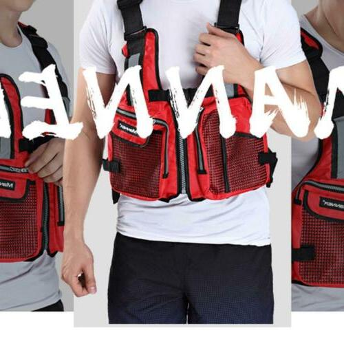 Adults Life Jacket For kayak Canoe Swimming Aids