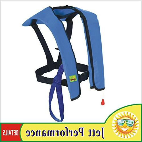 Premium Quality Manual Inflatable Life Jacket Lifejacket PFD Floating Vest Lifesaving PFD Color