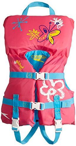 Speedo Begin to Swim 30lb Infant Personal Floatation Device Life Jacket Preservr