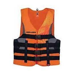New BRP Sea-Doo Men's Nylon Motion PFD Life Vest Jacket-Adul